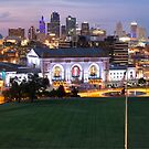 Union Station and the Kansas City Skyline by Gregory Ballos