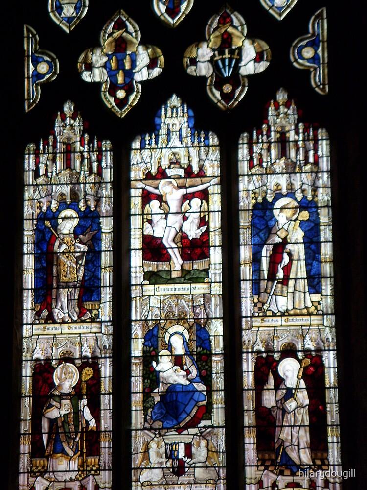 Jesus window Original by hilarydougill