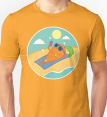 Miss Carrot on the beach T-Shirt