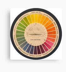 Hiler Color System Canvas Print