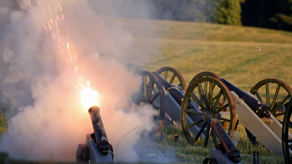 Cannon Fire by willJohnson