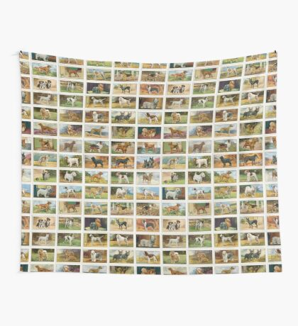 45 Colourful illustrations of dogs 2 Wall Tapestry
