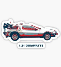 1.21 gigawatts Sticker