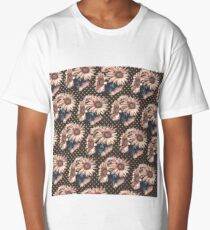 Sunflowers dots Long T-Shirt