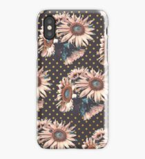 Sunflowers dots iPhone Case/Skin
