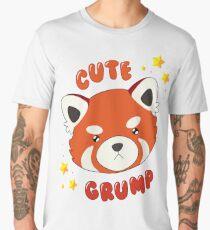 Cute Grump (Red Panda) Men's Premium T-Shirt