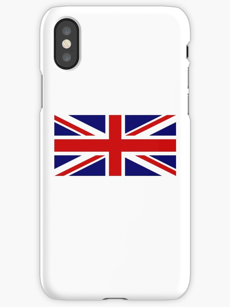 Union Jack, British Flag, UK, United Kingdom, Pure & simple, 1:2 by TOM HILL - Designer