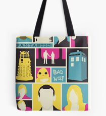 Doctor Who - The Ninth Doctor Tote Bag