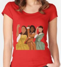 Schuyler Sisters Women's Fitted Scoop T-Shirt
