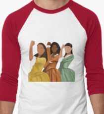 Schuyler Schwestern Baseballshirt für Männer