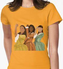 Schuyler Schwestern Tailliertes T-Shirt für Frauen