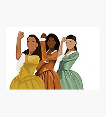 Schuyler Sisters Photographic Print