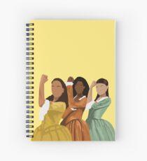 Schuyler Sisters Spiral Notebook