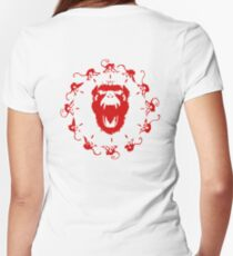 Army of the 12 Monkeys Women's Fitted V-Neck T-Shirt