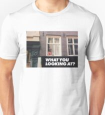 WHAT YOU LOOKING AT (ALIEN) T-Shirt