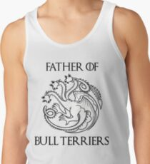 """""""Father of Bull Terriers"""" Tank Top"""