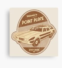 Welcome to Point Place Canvas Print