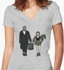 Leon: The Professional Women's Fitted V-Neck T-Shirt
