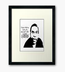 Popeye the chon chon juggler Framed Print