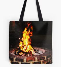 The firepit Tote Bag