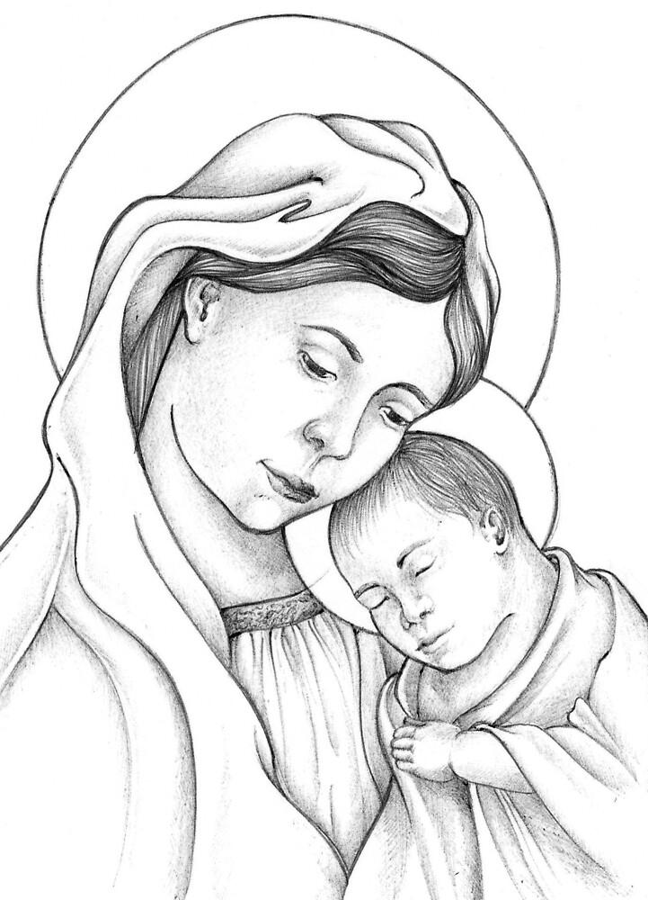 Madonna and Child by DPerez
