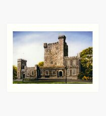 Knappogue Castle, county Clare, Ireland Art Print