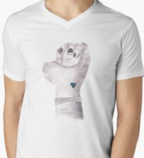 Diamond. Mens V-Neck T-Shirt