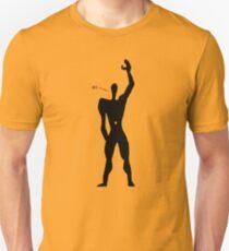 Le Corbusier - The Friendly Modular Man Slim Fit T-Shirt