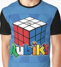 Rubik's Cube Logo Graphic T-Shirt