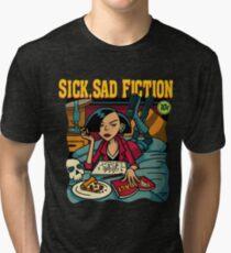 Sick, Sad Fiction Tri-blend T-Shirt