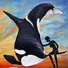 Schutzpatron Orca / Orca as Patron von Doris Thomas