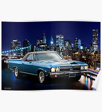 1968 Chevrolet El Camino SS396 'Morning After' II Poster
