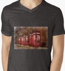 Hold the Phone The Red Telephone Box T-Shirt