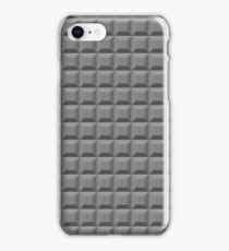 Gray Blocks Pattern iPhone Case/Skin