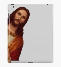 Jesus is Watching Meme iPad Case/Skin