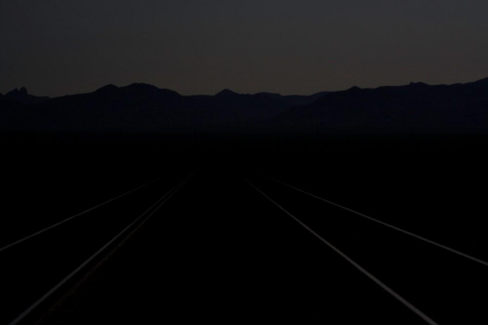 Ivanpah Valley Moonlight by Chris Clarke