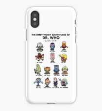 The Timey Wimey Adventures of the Doctor iPhone Case/Skin
