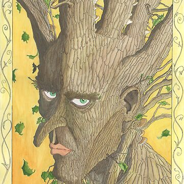 Potrait of an adolescent Tree-man by VLCII