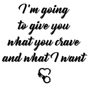 Crave & Want by BDSM-T-Shirt