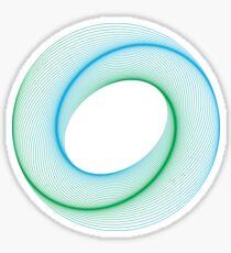 Colour Circle Sticker