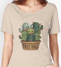 cute cactus Women's Relaxed Fit T-Shirt