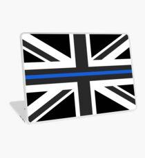 Thin Blue Line Union Jack UK Flag Laptop Skin