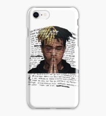 XXXTentacion - Letter in White iPhone Case/Skin