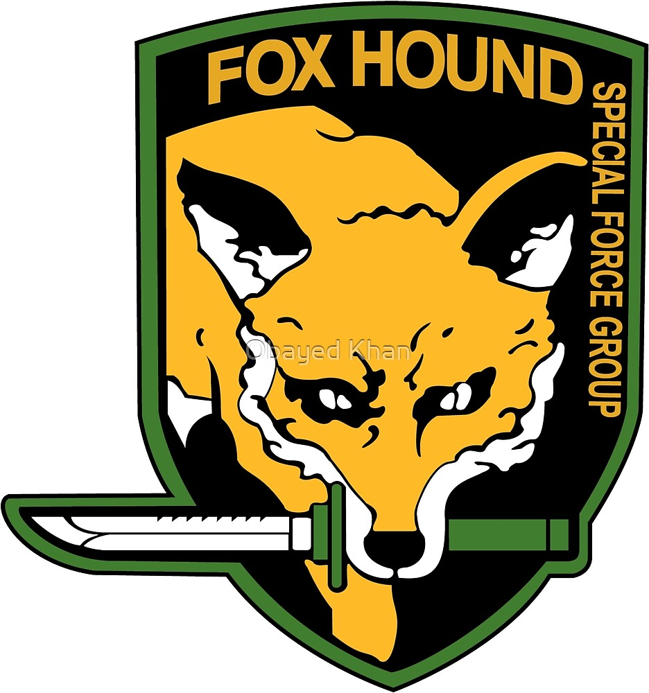 Metal Gear Solid - FOXHOUND by Obayed Khan
