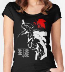 EVA 01 Women's Fitted Scoop T-Shirt