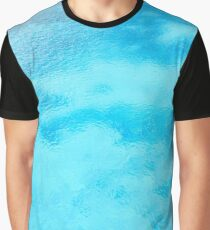 Blue water Graphic T-Shirt