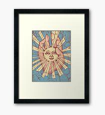 The Idiot Sun Framed Print