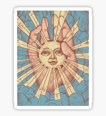 Die Idiot Sun Sticker