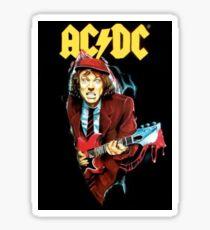 Vintage Rock-Angus Sticker
