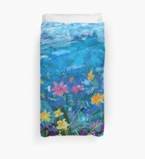 Spring Meadow Flowers #1 Duvet Cover